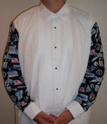 Air Force themed mess dress shirt