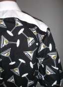 ice cold beer party tuxedo shirt by Tacky Tux