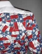 Texas flag tuxedo shirt by tacky tux