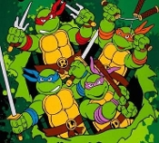 Ninja Turtle shirt by tacky tux