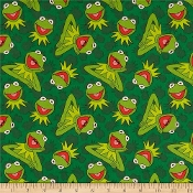 Kermit Muppets dress shirt by Tacky Tux