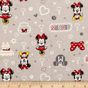 Minnie Mouse Grey