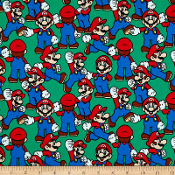 Nintendo Mario dress shirt by Tacky Tux