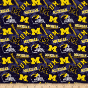 Michigan 'Go Blue' party shirts by Tacky Tux